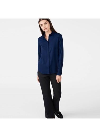 Gant Uzun Kollu Gömlek Lacivert